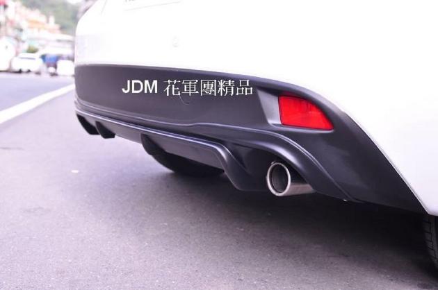 2015~2016年 NEW MAZDA 3 V版式樣 空力套件 全車下巴 4