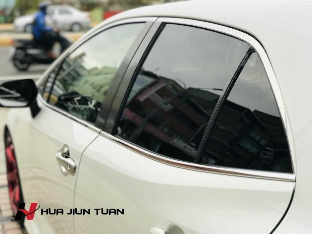 AURIS 白金車窗飾條 1